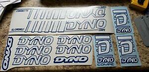 BMX DYNO COMPE DECAL SET 86 87 88 BMX DYNO COMPE DECAL SET 1986