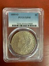 1895-O Morgan Silver Dollar $1 Coin - Certified PCGS  XF45  Rare