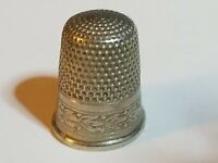 Antique Vintage Simons Brothers Industrial Thimble Leaf Berry Garland Etching