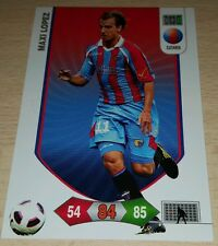 CARD ADRENALYN CALCIATORI PANINI CATANIA MAXI LOPEZ CALCIO FOOTBALL SOCCER