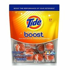 37 Pod Count Tide Boost Duo Pac In-wash Booster FREE SHIPPING