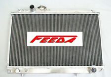 Aluminum Radiator FOR 1986-1991 TOYOTA SOARER 3.0GT Turbo/Supra  3.0L MANUAL