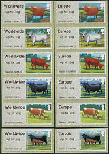 WINCOR TYPE II CATTLE 60g RATES MATCHED SETS/6 FS47b FS50b POST & GO FASTSTAMPS