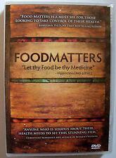 FOODMATTERS - Food Matters (2009) - BRAND NEW! Sealed In Shrink Wrap - DVD Video