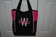 Personalized Embroidered Diaper Tote Bag Bridesmaid Monogrammed Coaching Teacher