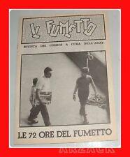 Supplemento fanzine IL FUMETTO N 19 ANAF 72 ORE 1975