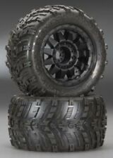 "PROLINE Shockwave 3.8"" All Terrain Tires 2 Mounted PAIR MONSTER TRUCK PRO119313"