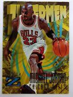 1996-97 SkyBox Z Force Zupermen Michael Jordan #179, Chicago Bulls, HOF