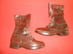 U.S.ARMY : 1944 WWII DOUBLE BUCKLE  Combat Boots -   used