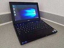 "Mini laptop Dell Latitude 2120 10.1"" Intel Atom N550 1.5ghz, 2 GB RAM 250 GB HDD Win10"