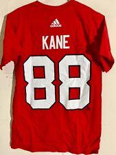 adidas  NHL T-Shirt Chicago Blackhawks Patrick Kane Red sz XL