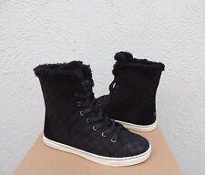 UGG CROFT DOUBLE DIAMOND SUEDE SHEEPSKIN WINTER ANKLE BOOTS, US 9/ EUR 40 ~NIB