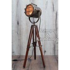 Restoraion Design Metal & Wood Desk Lamp Lighting