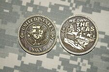 Challenge Coin NEW US Navy We Own The Seas