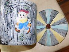 Vintage cookie jar made in japan