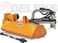 Trincia argini 130 MEDIO-LEGGERO trinciaerba DELEKS trinciatrice trattore fossi