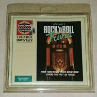 ROCK 'N ROLL TRIVIA Volume 5 Commodore 64 Rare Vintage Sealed