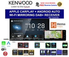 "Kenwood DMX8520DABS Digital Media Receiver with 7.0"" Wireless Apple Carplay & Android Auto"