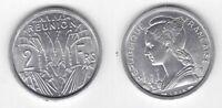 REUNION – 2 FRANC UNC COIN 1948 YEAR KM#8