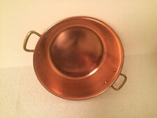 French copper jam vintage cookware
