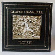 CLASSIC BASEBALL The Photographs of Walter Iooss Jr. Leather Bound