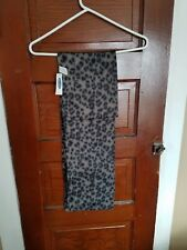 NWT OLD NAVY Women's OS One Size Gray Animal Print 100% Polyester Scarf