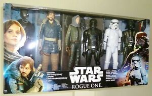 Star Wars Hasbro ROGUE ONE - set of SIX 18 cm/12 inch action figures - RARE