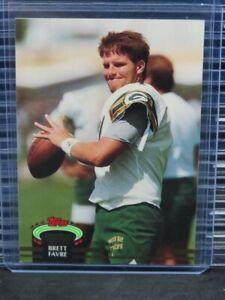 1992 Stadium Club Brett Favre #683 Falcons Packers L368