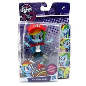 "My Little Pony Equestria Girls Rainbow Dash Poseable 4"" Figure Hasbro Age 5+"