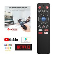 F60 Smart Voice Remote Control Wireless Air Mouse for PC Laptop Android TV Box