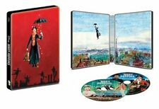 New! Disney Mary Poppins Limited Edition Steelbook (Blu-Ray + DVD + Digital)