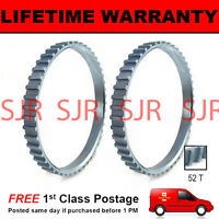 2X FOR HYUNDAI SANTA FE MK1 52 TOOTH 90.4MM ABS RELUCTOR RING CV JOINT AR4801