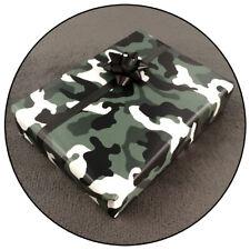 Geschenkpapier - Camouflage Army Military Fleck Tarnmuster Militär Camo Woodland