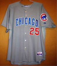 Chicago Cubs Chris Bosio 2012 Coaches Gray Button-Down Mlb Jersey