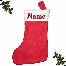 Santa Stocking Custom Printed Xmas Festive Father Christmas Novelty Personalised