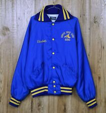 VINTAGE HOLLOWAY SENIOR LEAGUE BASEBALL JACKET SIZE USA L PADDED MADE IN USA