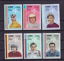 Ajman 369-74* Grand Prix Driver Fangio Jim Clark Trips Car Race middle east