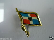 PINS,SPELDJES 50'S/60'S COUNTRY FLAGS 22 DOMINICAN REPLUBIC VINTAGE VERY OLD