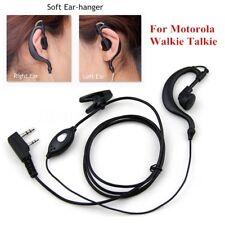 Security Headset Earpiece Earphone Mic for Motorola Walkie Talkie Radio 2 Pin