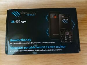 XL-932.gps Komforthandy mit Garantruf Premium, XL-Farbdisplay, GPS-Tracking App