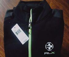 Rlx Ralph Lauren Men's Stretch Half-Zip Sweater