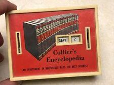 Vintage Collier's Encyclopedia Bank
