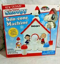 The Original Snoopy Sno-Cone Machine Peanuts, Cra-Z-Art