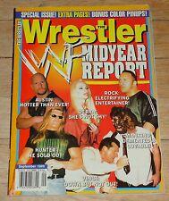 1999 Wrestler Magazine Wrestling WWF NWA WWE Ric Flair Big Bossman Rick Rude