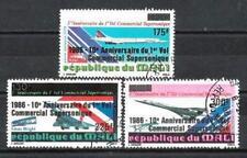 Aerei Mali (3) Serie Completa di 3 Francobolli Timbrati