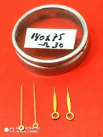 2X pair Watch-Hands For OMEGA 30 Vintage Watch parts 140X75