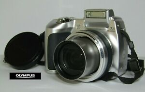 OLYMPUS SP-510UZ DIGITAL COMPACT CAMERA 7.1MP IN SILVER USED