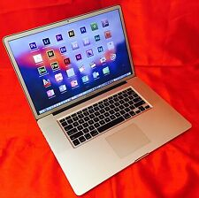 "MacBook Pro 17""  2.8GHz intel i7 TURBO+8GB +2TB SSHD + COMPLETE STUDIO/EDITING"