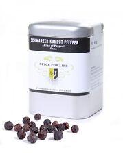 Spice for Life Schwarzer Kampot Pfeffer - The King of Pepper (ganz) Dose 60 g