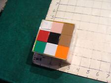 Vintage Cube puzzle: KOLOR KRAZE sealed in package, 1973 house of games
